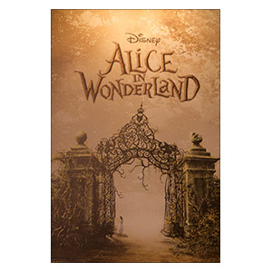 Alice in Wonderland. Размер: 20 х 30 см